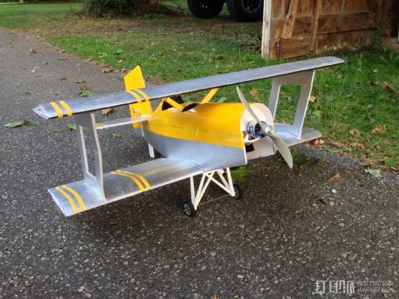 飞机起落架 3D模型  图1