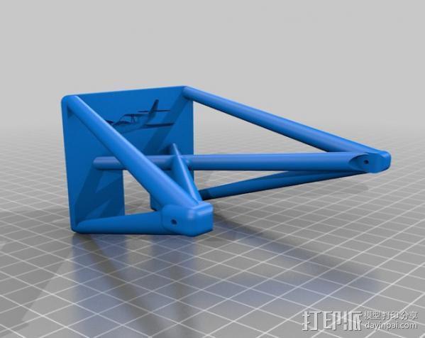 飞机起落架 3D模型  图2