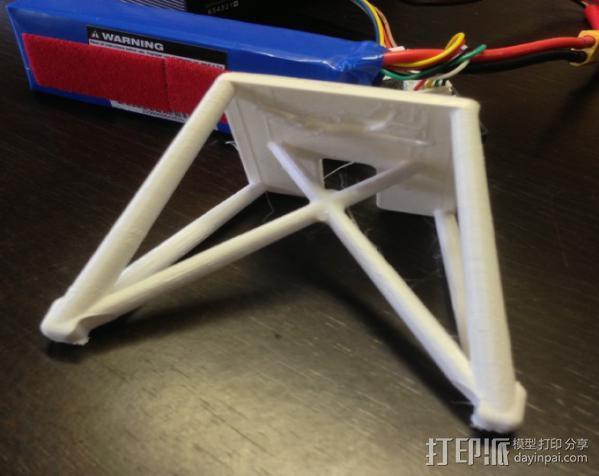 飞机起落架 3D模型  图3