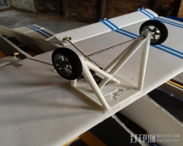 飞机起落架 3D模型  图6