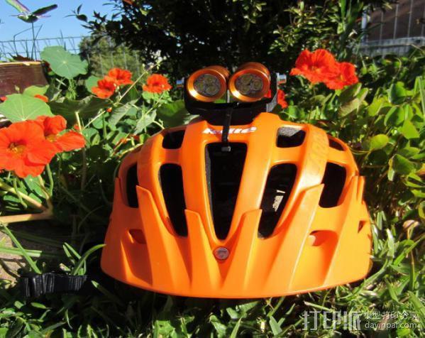 头盔灯座 3D模型  图3