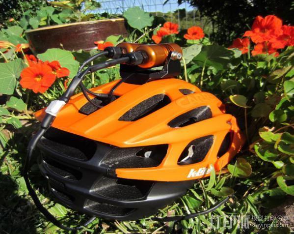 头盔灯座 3D模型  图4