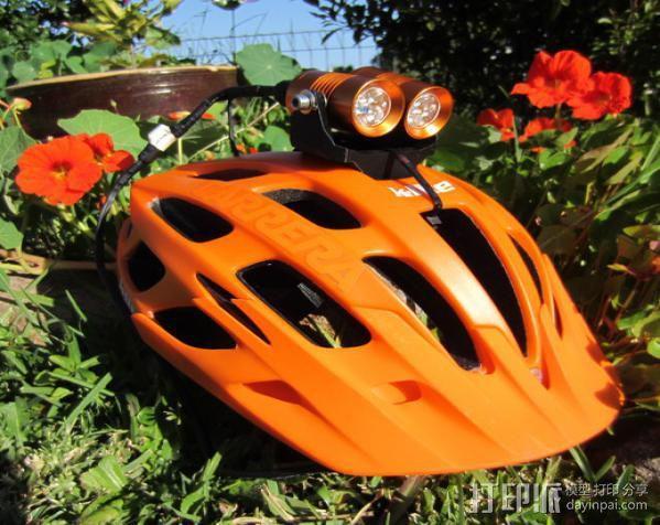 头盔灯座 3D模型  图5