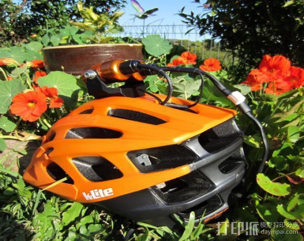 头盔灯座 3D模型  图6
