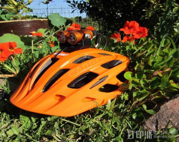 头盔灯座 3D模型  图7