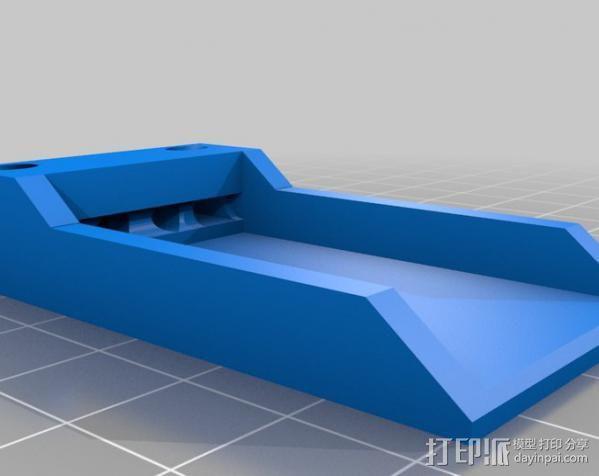 遥控飞机接收机外罩 3D模型  图2