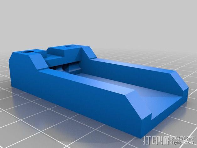 Graupner GR-16陀螺仪接收器 3D模型  图1