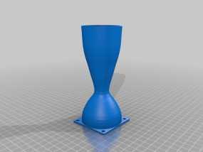 拉法尔喷嘴风扇座 3D模型