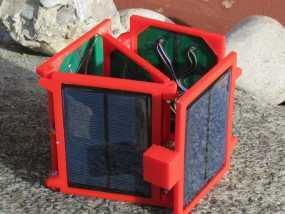 便携式太阳能电池板 3D模型