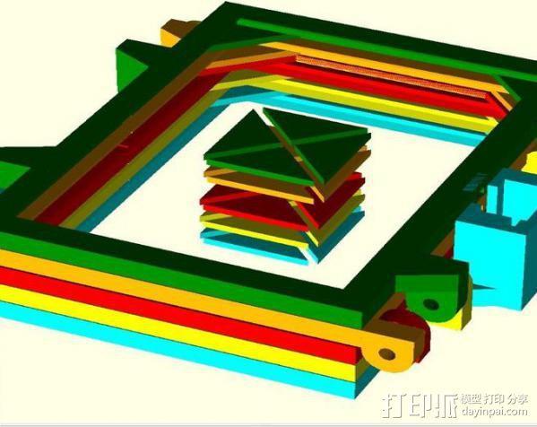 便携式太阳能电池板 3D模型  图6