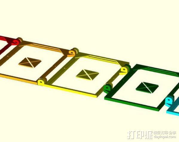 便携式太阳能电池板 3D模型  图5