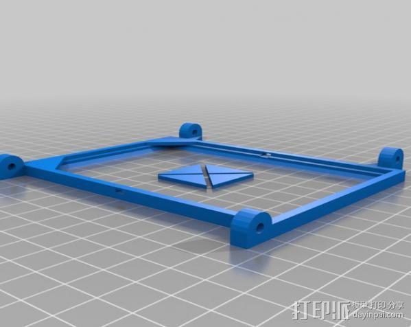 便携式太阳能电池板 3D模型  图8
