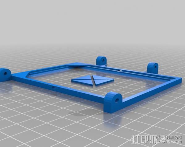 便携式太阳能电池板 3D模型  图9