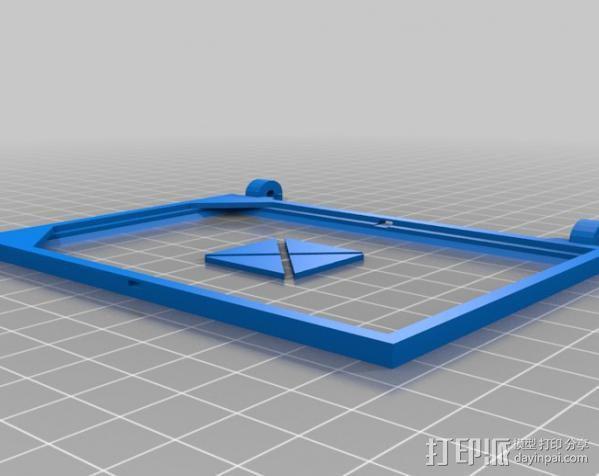 便携式太阳能电池板 3D模型  图7