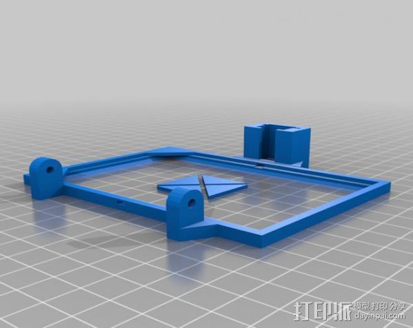 便携式太阳能电池板 3D模型  图11