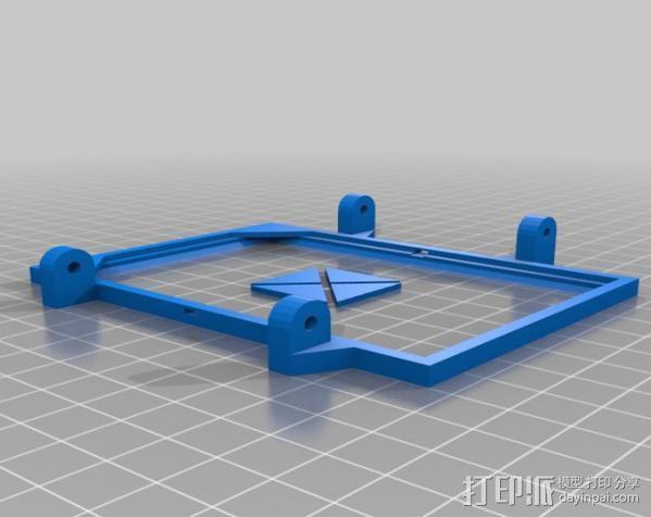 便携式太阳能电池板 3D模型  图10