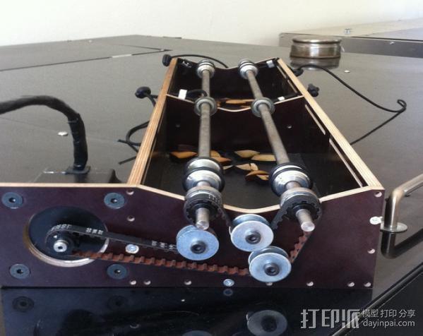 激光切割机上的旋转轴 3D模型  图6