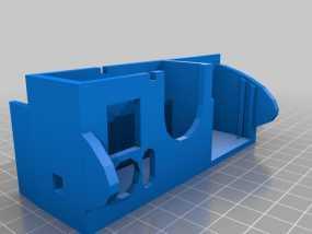 Gopro Hero 3相机保护外罩 3D模型