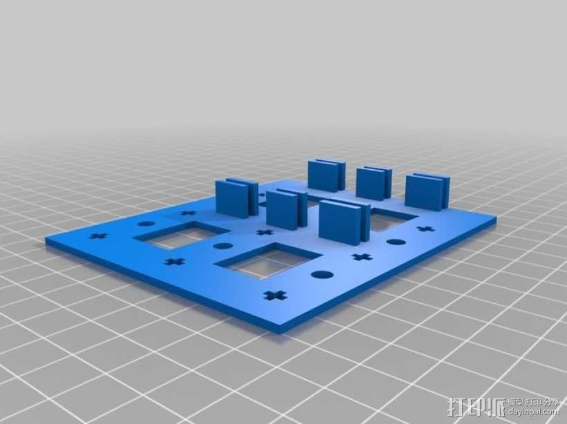 履带式机器人 3D模型  图2
