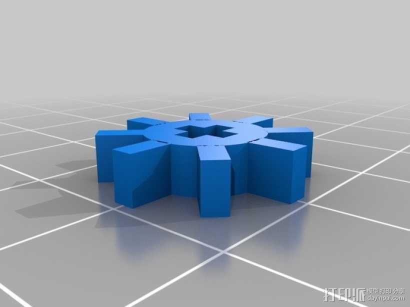 履带式机器人 3D模型  图8