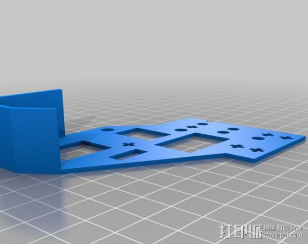 履带式机器人 3D模型  图9