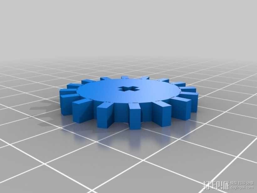 履带式机器人 3D模型  图10