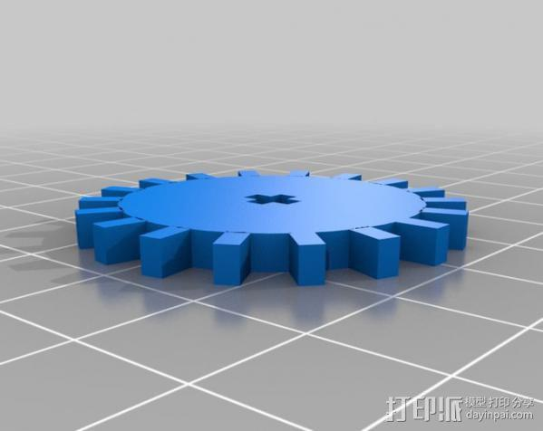 履带式机器人 3D模型  图11