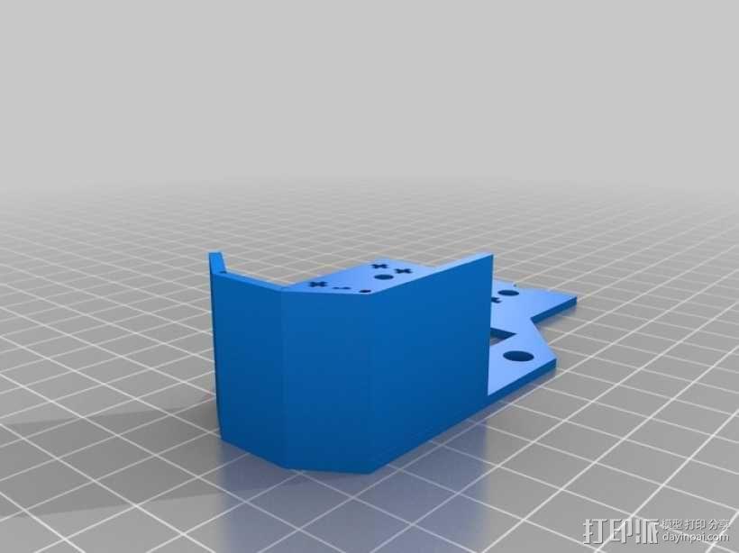 履带式机器人 3D模型  图12