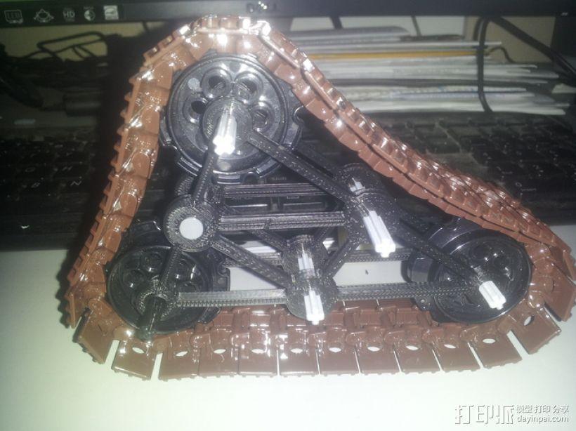 履带式机器人 3D模型  图13