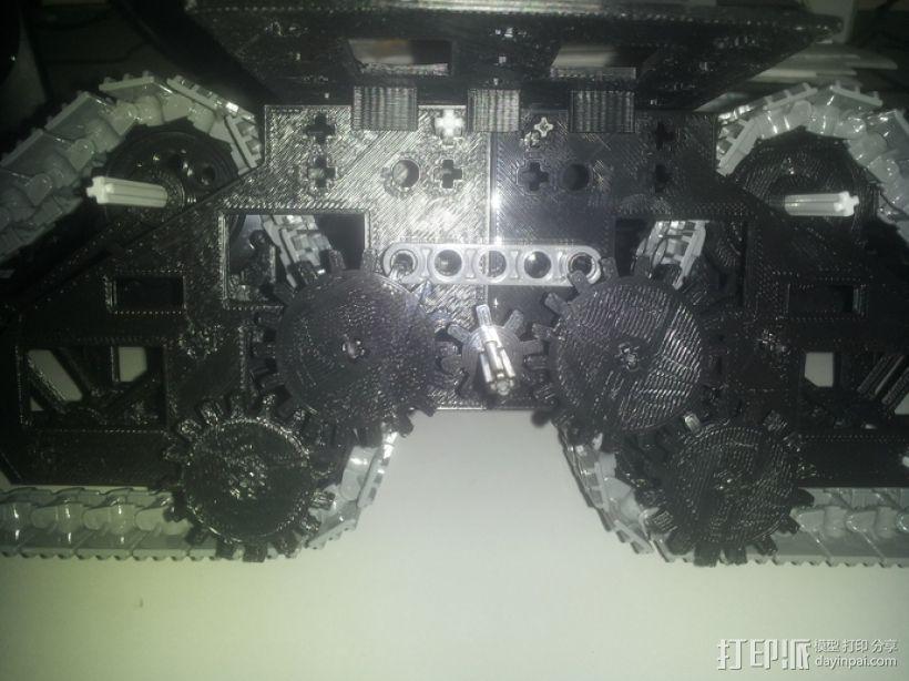 履带式机器人 3D模型  图14