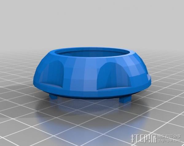 牧马人吉普车手柄 3D模型  图2