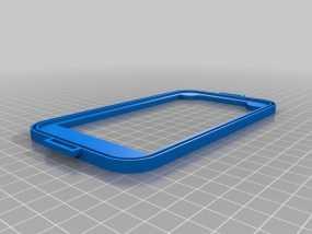 三星Galaxy Note 2手机套 3D模型