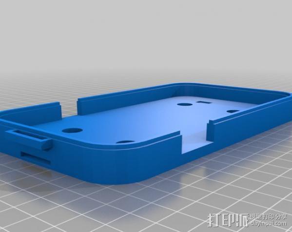 三星Galaxy Note 2手机套 3D模型  图2