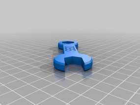 扳手 3D模型