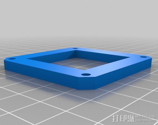 索尼相机保护罩 3D模型  图2