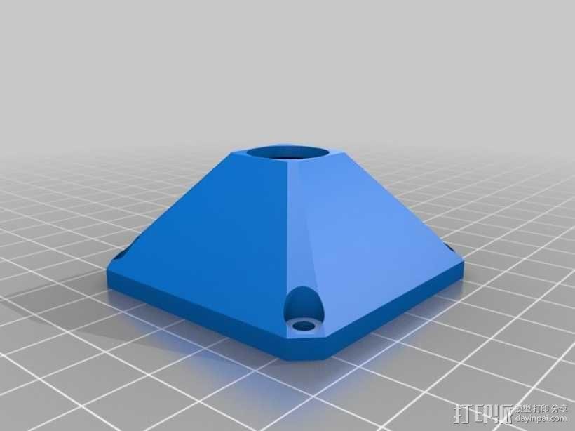 索尼相机保护罩 3D模型  图1