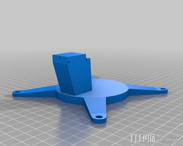 相机支架 万向节 3D模型  图2