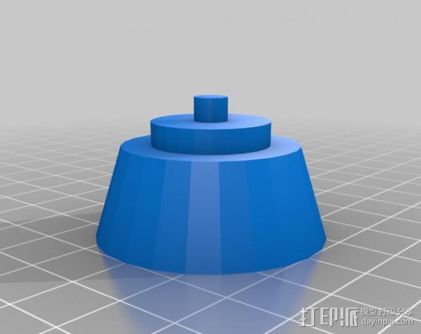 相机支架 万向节 3D模型  图3