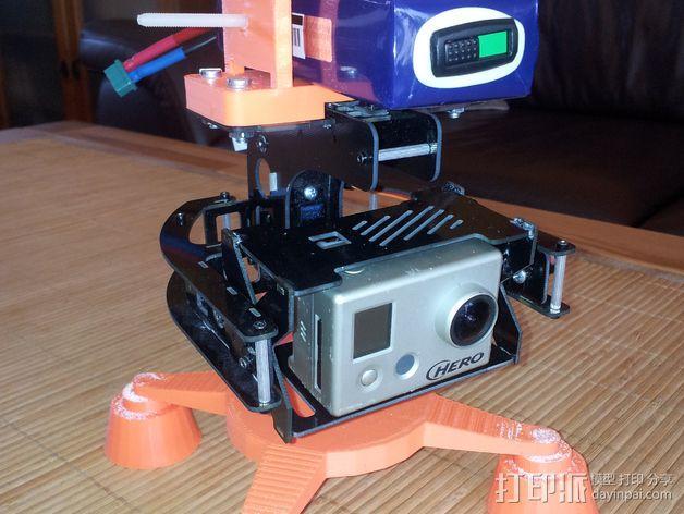 相机支架 万向节 3D模型  图5