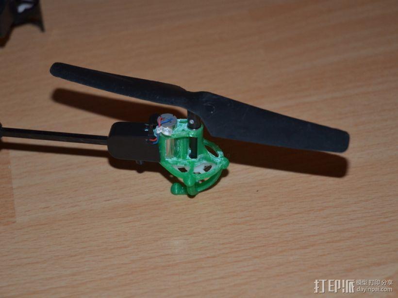 旋翼飞行器 3D模型  图3