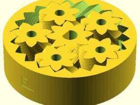 齿轮套组 3D模型