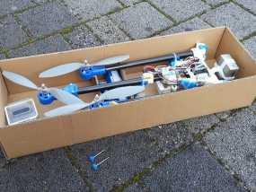 三轴飞行器 3D模型