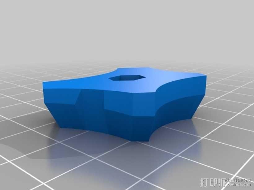 鞋跟垫片 3D模型  图2
