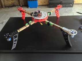 四轴飞行器中心毂 3D模型