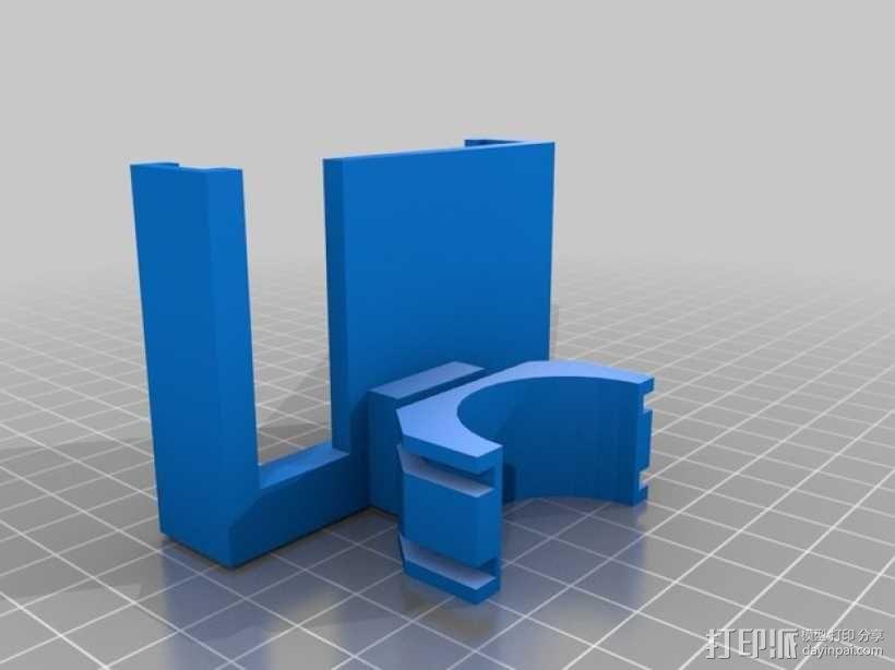 三星Galaxy S2 i9100手机支架 3D模型  图1