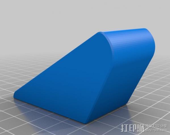 壁挂式唱片架  3D模型  图3