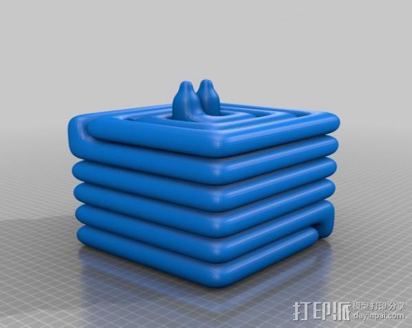 散热器 3D模型  图1