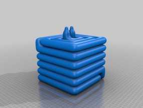 散热器 3D模型