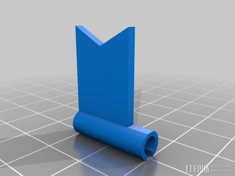 旗帜 3D模型  图1