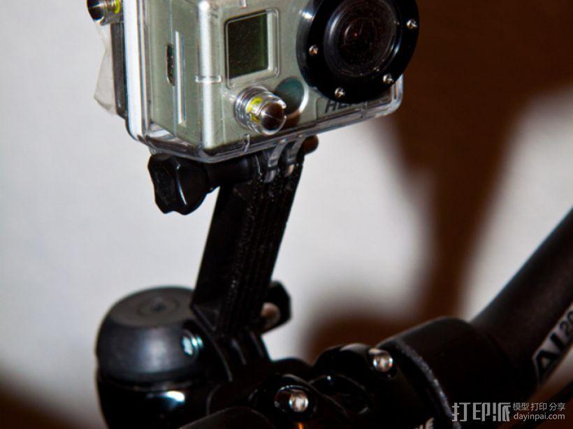 GoPro相机底座 3D模型  图4